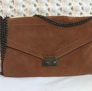 J.Crew Suede Leather Shoulder Bag